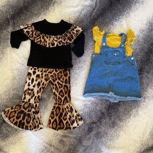 BUNDLE of 2 adorable outfit size 24M D7
